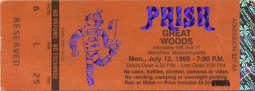 Phish Kicks Off Great Woods Run With Electric 'Foreplay / Longtime' In 1999