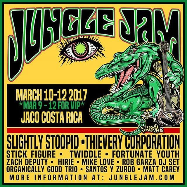 Jungle Jam Announces Phase One Of 2017 Lineup