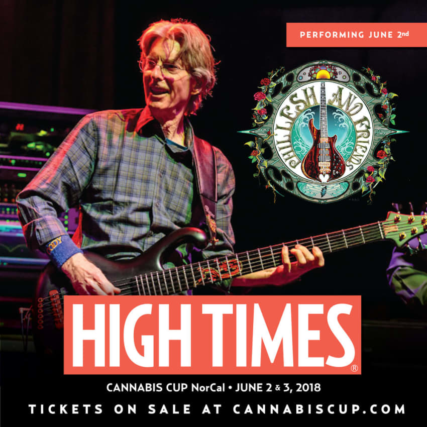 Phil Lesh & Friends To Headline 2018 NorCal Cannabis Cup