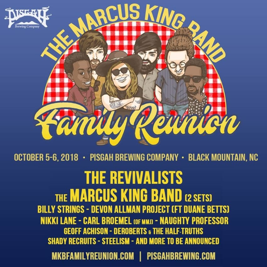 Stewart Family Reunion 2018 Home: The Marcus King Band Announces 2018 Family Reunion Lineup