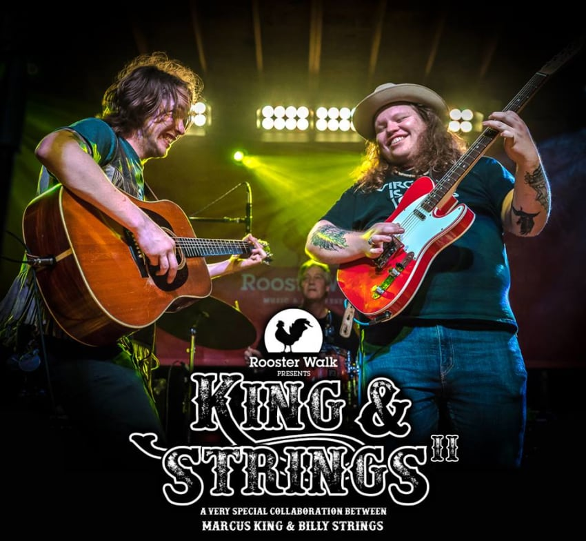 Rooster Walk 11 Adds Return Of Marcus King & Billy Strings