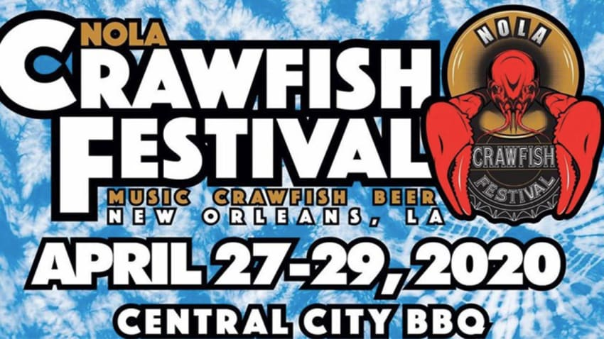NOLA Crawfish Festival Reveals 2020 Lineup