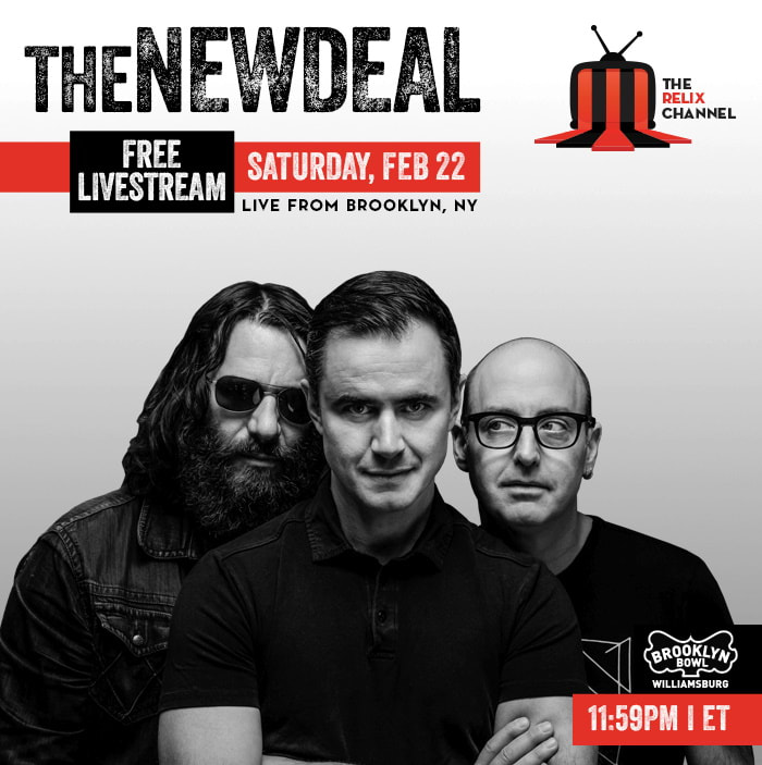 The New Deal Announces Brooklyn Bowl Free Live Stream