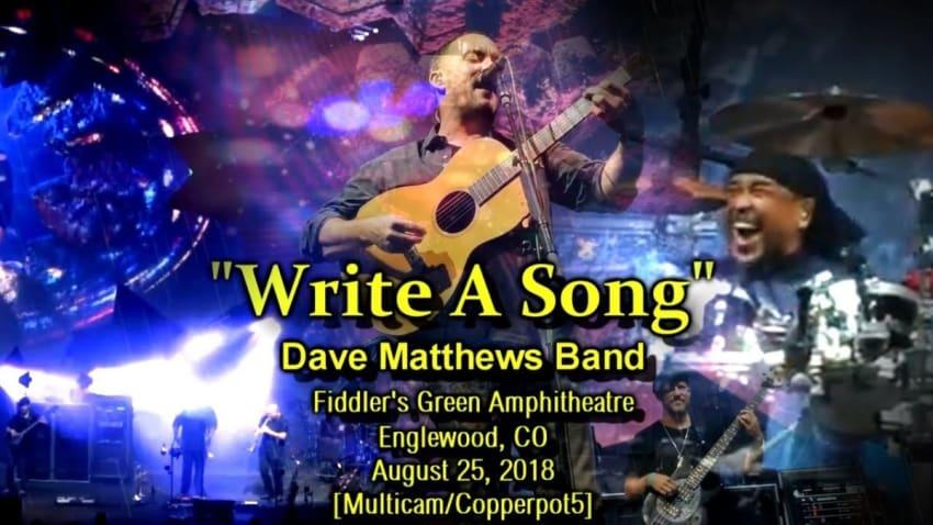 Write a Song Lyrics :: Dave Matthews Band - Absolute Lyrics