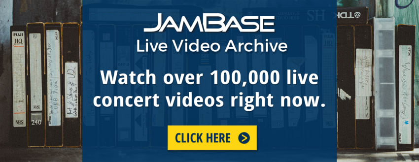 JamBase Live Video Archive