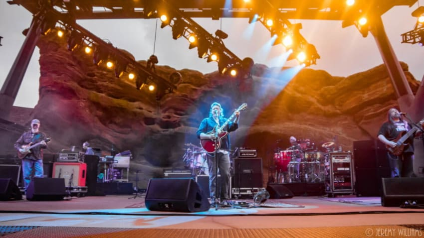 Widespread Panic Performs Bloodkin Set At Red Rocks