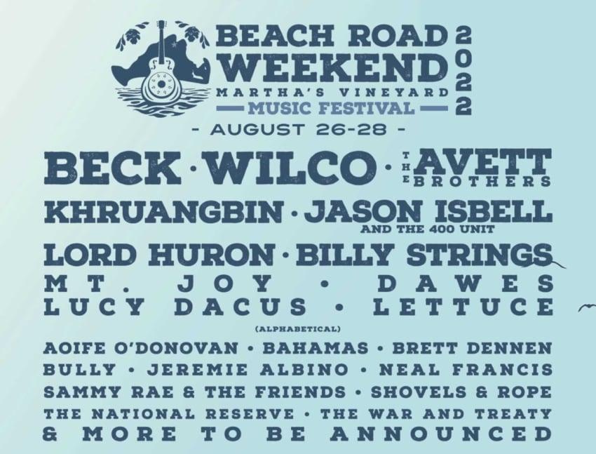 Beach Road Weekend 2022: Beck, Wilco, Khruangbin & More