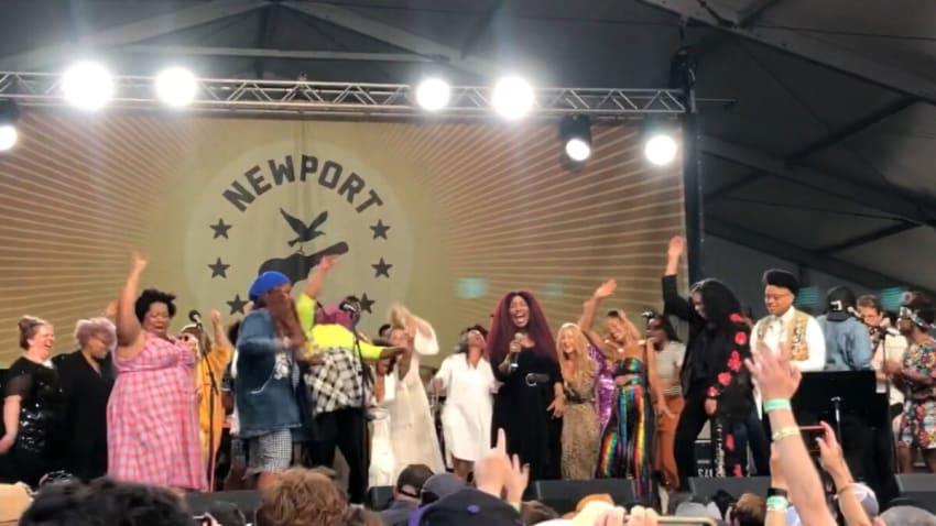 Hiss Golden Messenger Welcomes Dawes, Aoife O'Donovan, Erin Rae & Birds Of Chicago At Newport Folk Festival