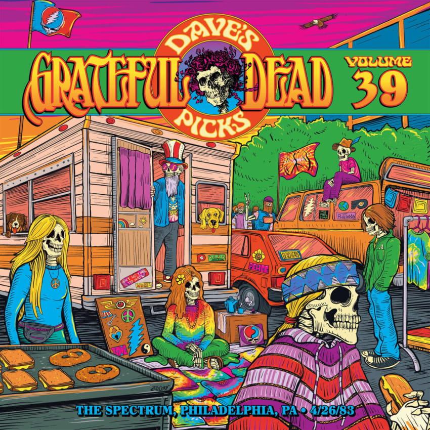 Grateful Dead Selects Philadelphia 1983 Concert For 'Dave's Picks Volume 39'