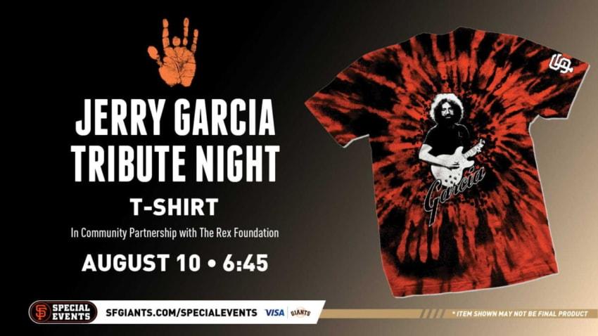 San Francisco Giants Announce Jerry Garcia Tribute Night