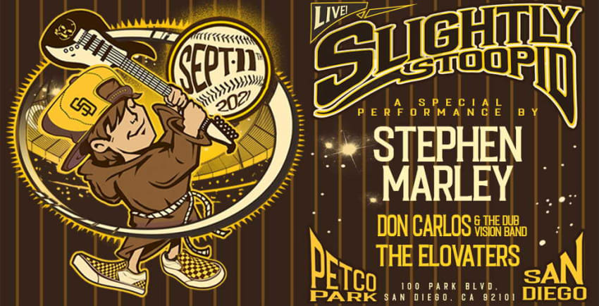 Slightly Stoopid Announces September 2021 Concert In San Diego Featuring Stephen Marley & More