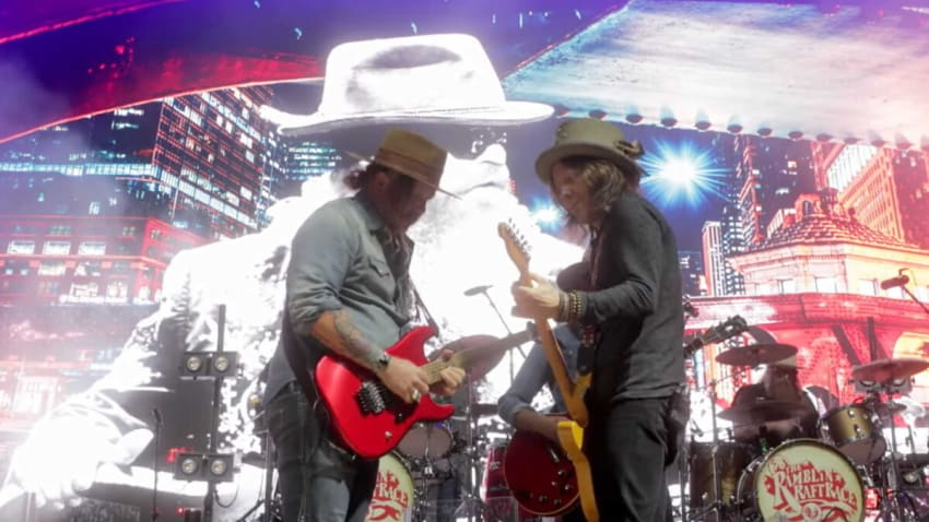 Blackberry Smoke & Allman Betts Band Cover The Rolling Stones In New York