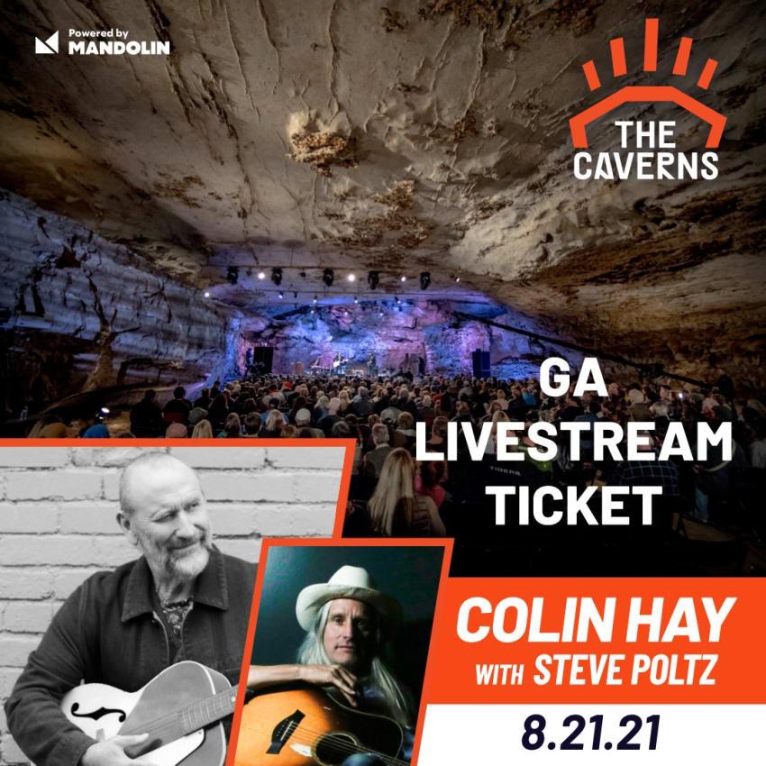 Mandolin Livestreams This Week: Colin Hay & Steve Poltz, GoldFord, Mt. Joy & More