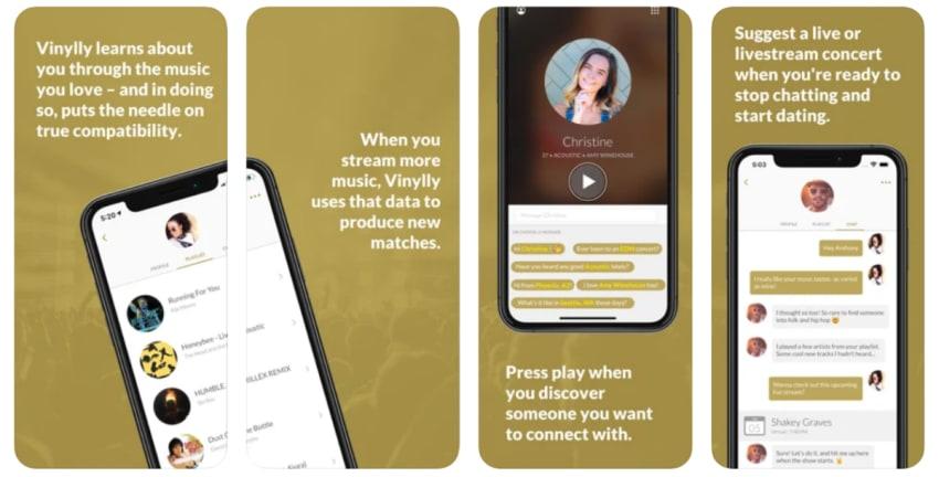 Vinylly Dating App: Musical Matchmaking