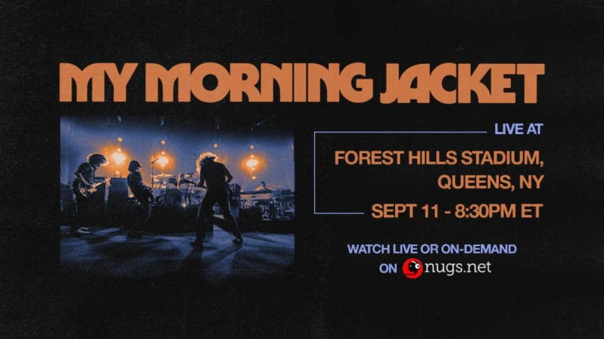 My Morning Jacket Announces Forest Hills Concert Livestream