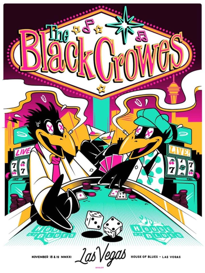 Black Crowes Confirm November 2021 Run In Las Vegas