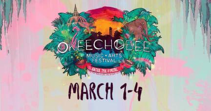 Okeechobee Festival 2018 Hat Pin