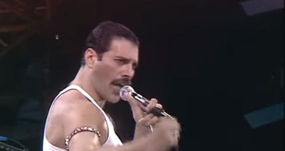 happy birthday freddie mercury queen at live aid happy birthday freddie mercury queen