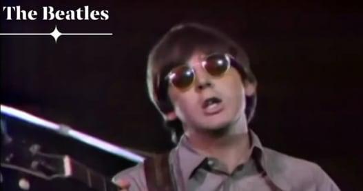 Ed Sullivan Show Christmas Show 2020 The Beatles Perform 'Paperback Writer' On 'The Ed Sullivan Show