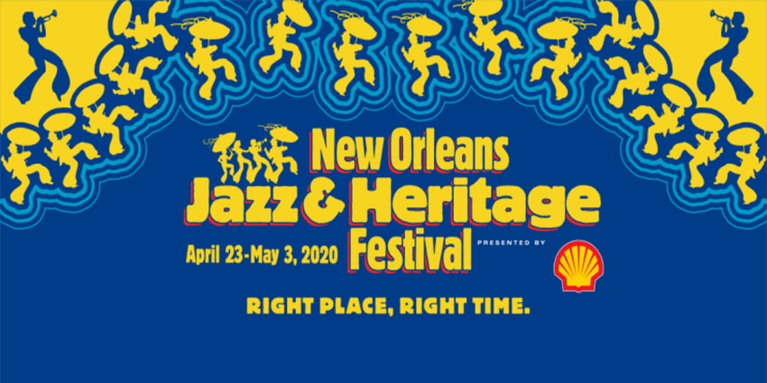 New Orleans Jazz Fest 2020 Logo