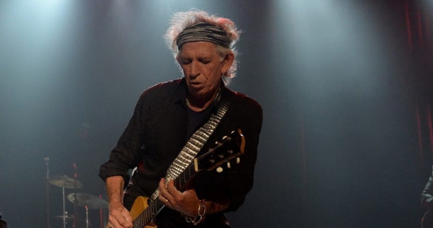 Keith Richards Kevin Mazur Crop