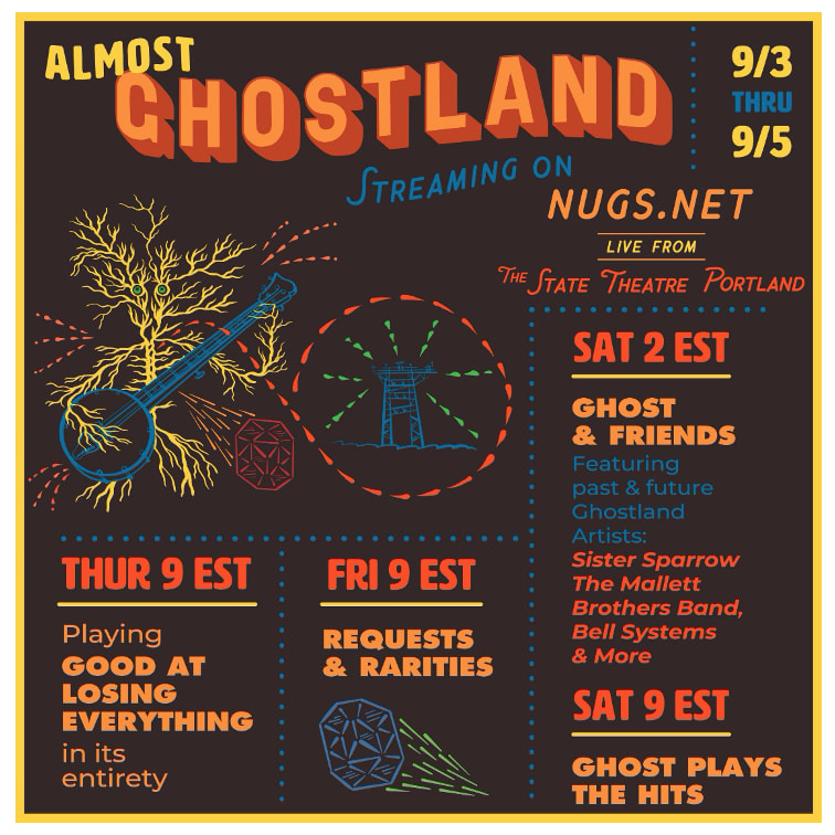 The Ghost Of Paul revere Almost Ghostland