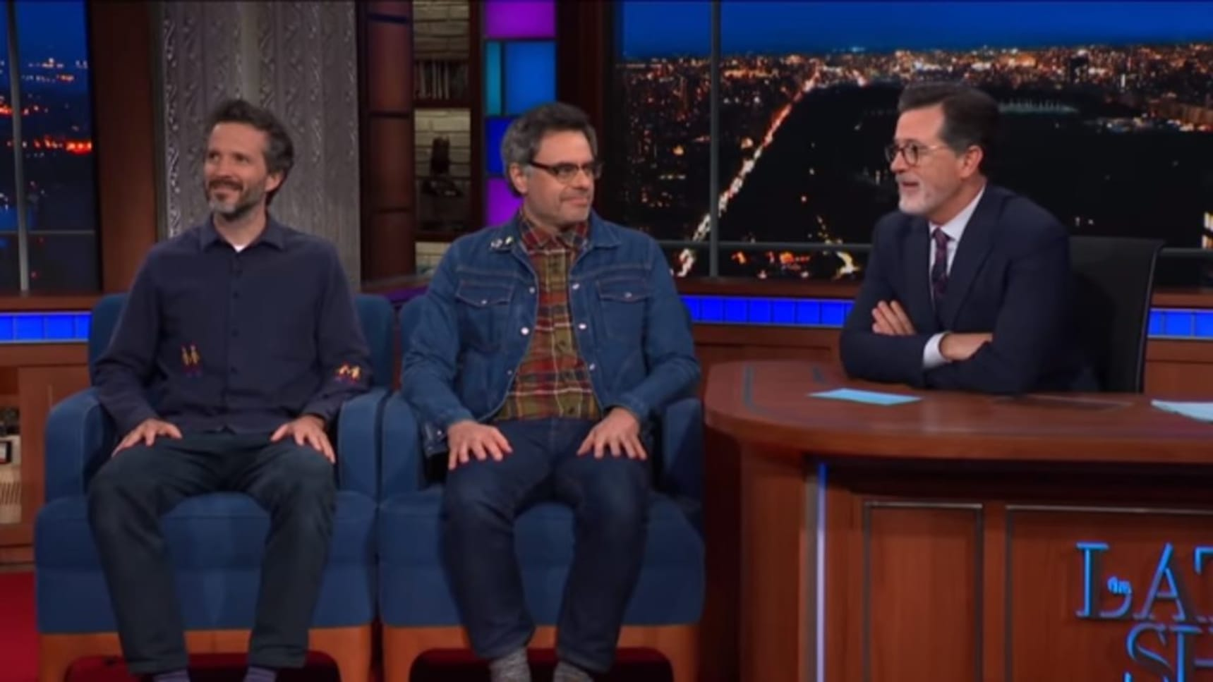 Flight Of The Conchords Perform On The Late Show With Stephen