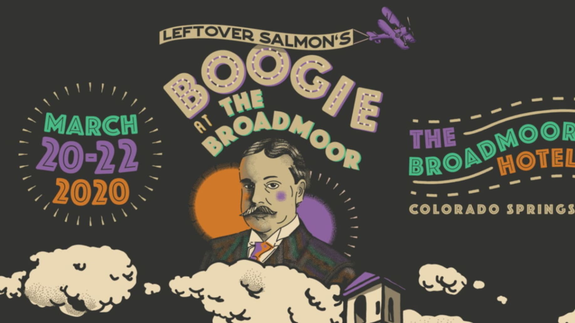 Christmas At The Broadmoor 2020 Leftover Salmon Announces 2020 Boogie At The Broadmoor Lineup