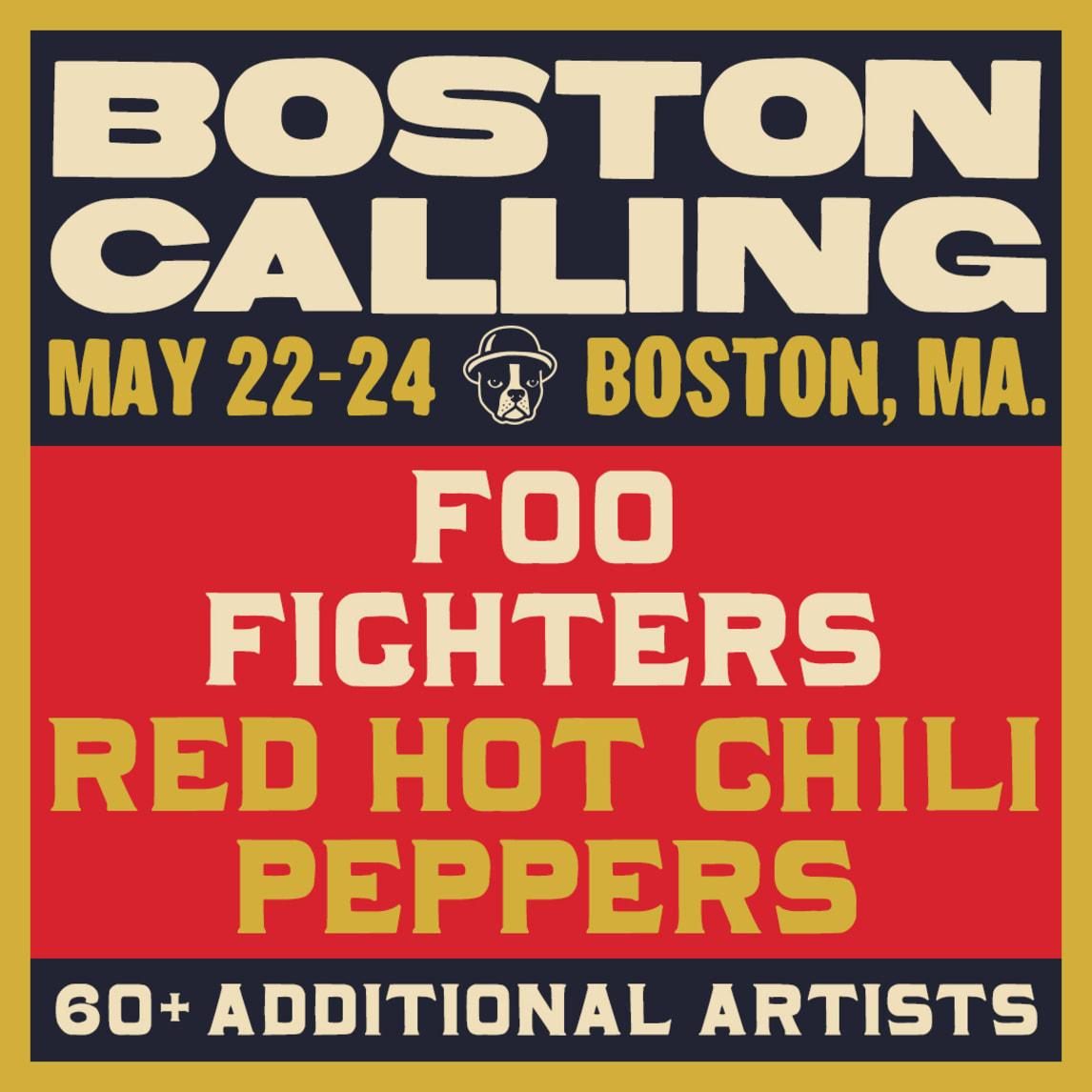 Resultado de imagen de boston calling 2020