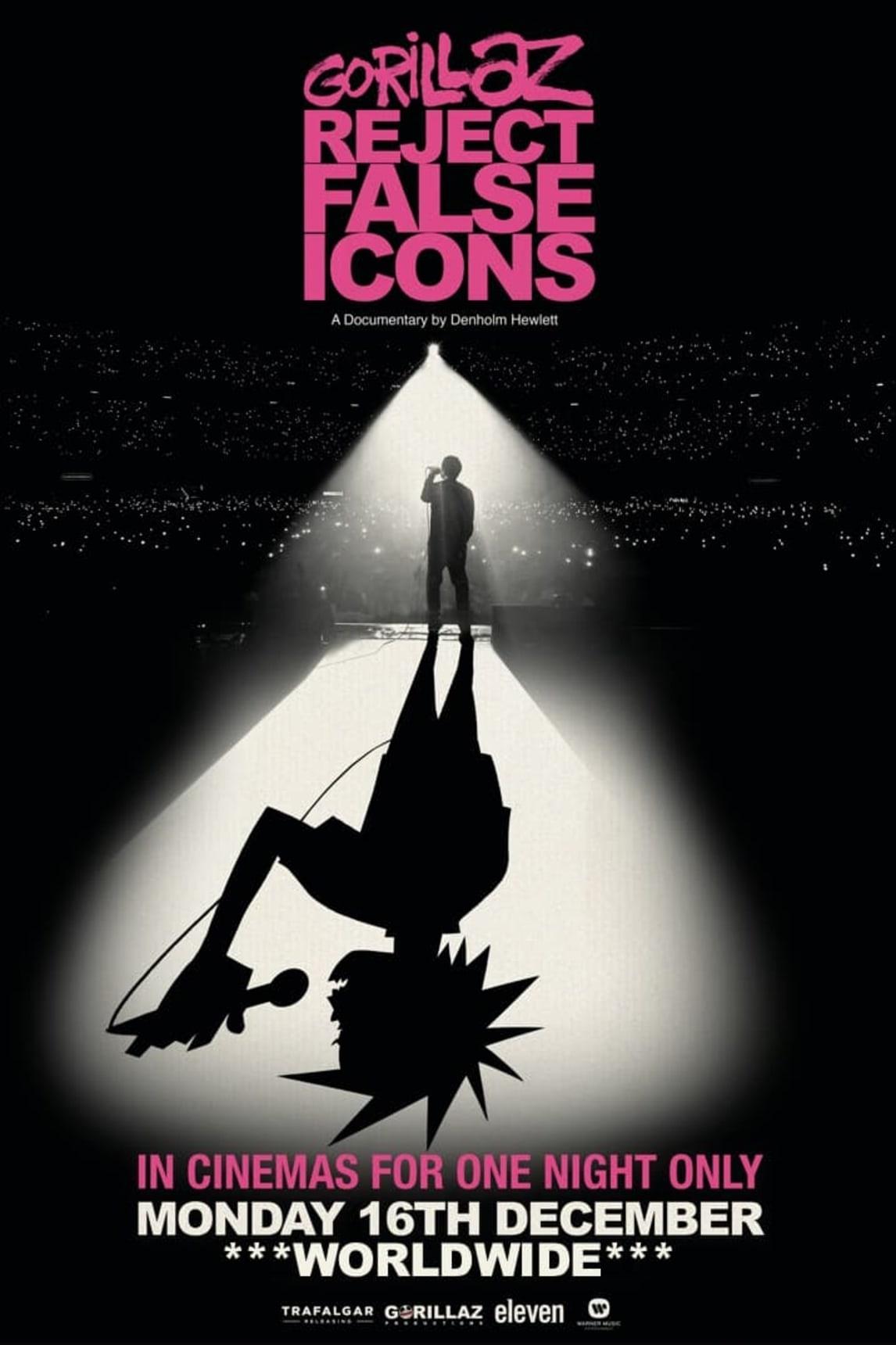 """Znalezione obrazy dla zapytania: Gorillaz: Reject False Icons"""""""