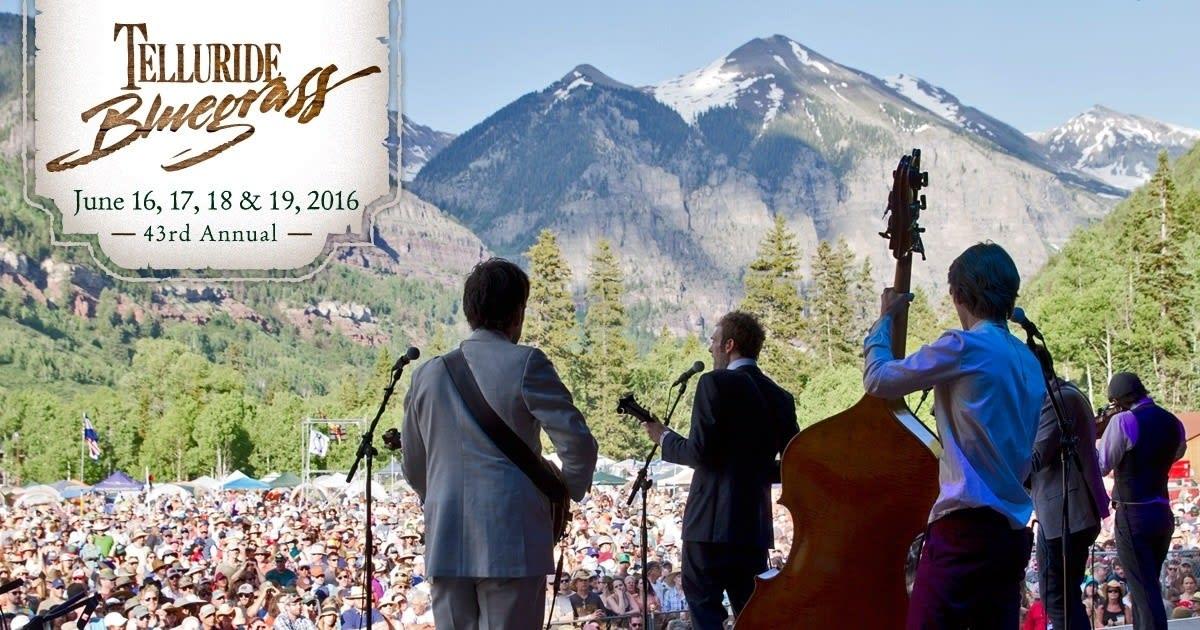 Telluride Bluegrass Festival 2020.Telluride Bluegrass Festival Announces Initial 2016 Lineup