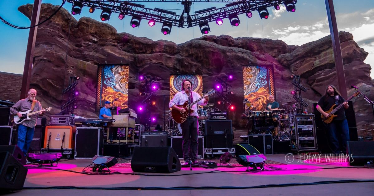 Widespread Panic Announces Red Rocks 2019 Live Streams