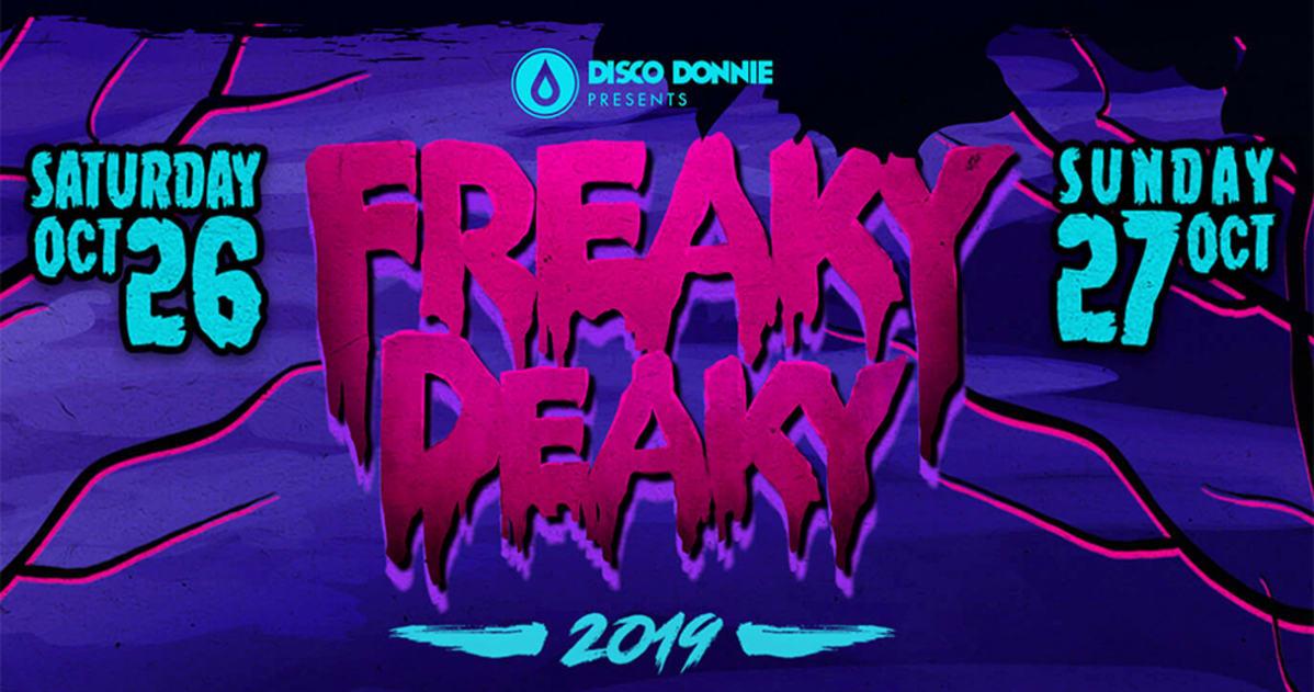 Freaky Deaky Festival 2020.Freaky Deaky Texas 2019 Lineup Oct 26 27 2019