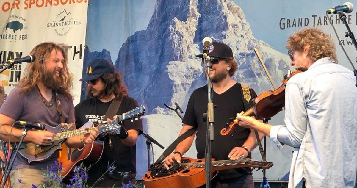 Targhee Bluegrass Festival 2020.Greensky Bluegrass Sam Bush Team At Grand Targhee