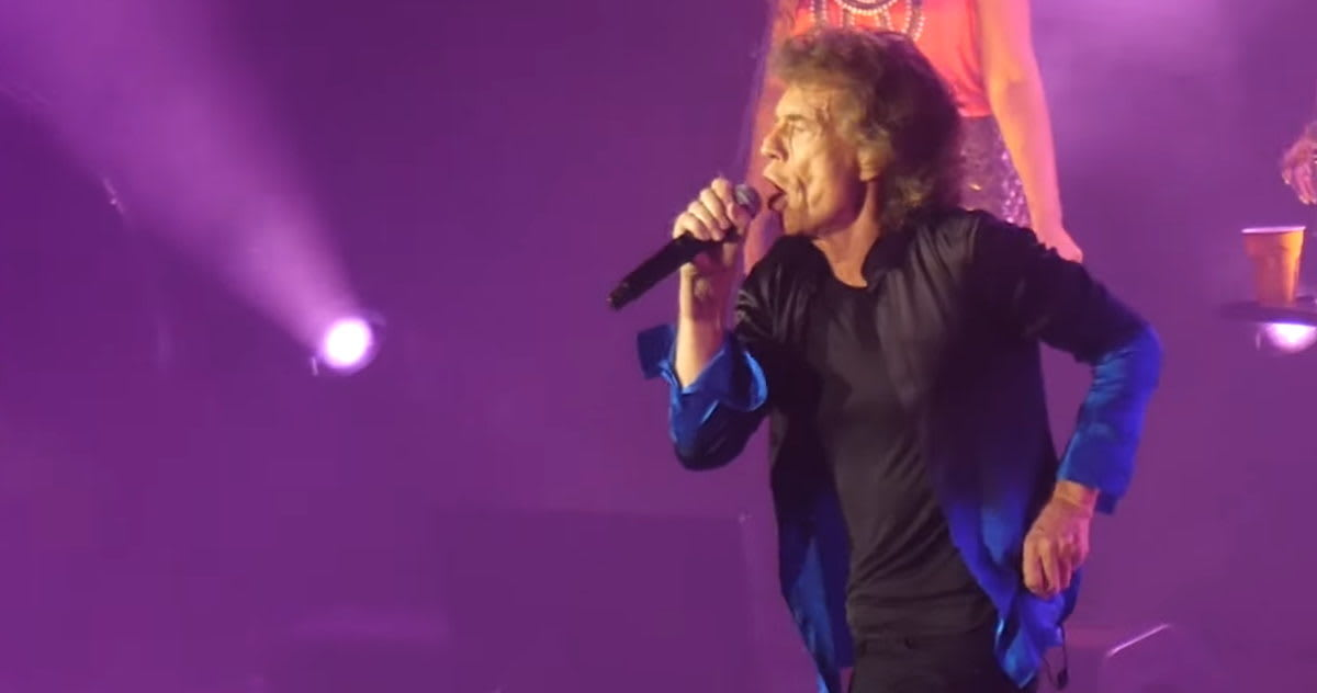 The Rolling Stones Perform 'Harlem Shuffle' For 1st Time