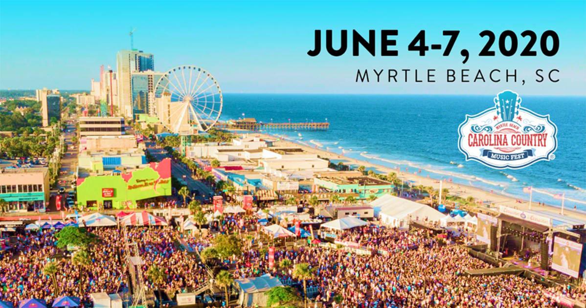 Myrtle Beach Country Music Festival 2020.Carolina Country Music Festival 2020 Lineup Tickets Jun