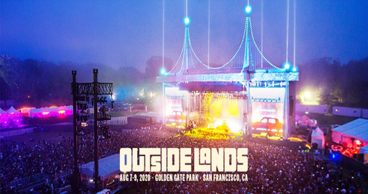 2020 Outside Lands Music And Arts Festival Lineup.Outside Lands 2020 Lineup Aug 7 9 2020