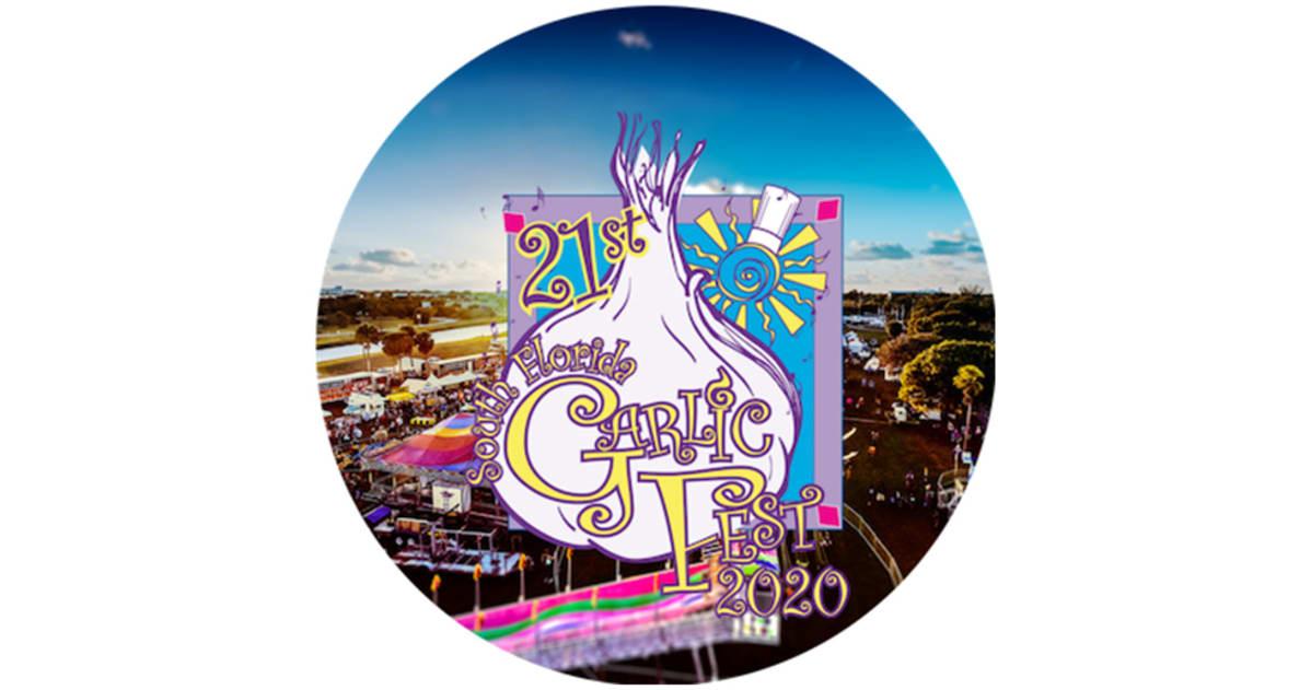 Garlic Festival 2020.South Florida Garlic Festival 2020 Lineup Tickets Feb 8
