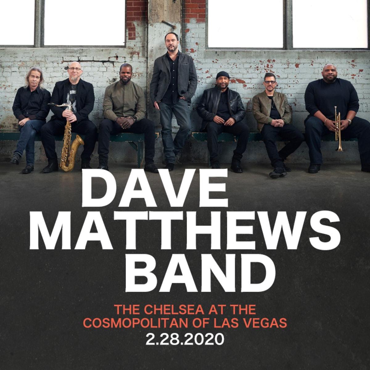 Dave Matthews Band Tour 2020.Dave Matthews Band Announces Las Vegas Concert