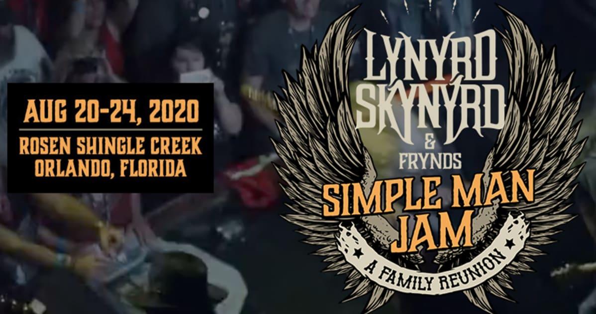 Lynyrd Skynyrd Tour 2020.Lynyrd Skynyrd Frynds Simple Man Jam A Family Reunion