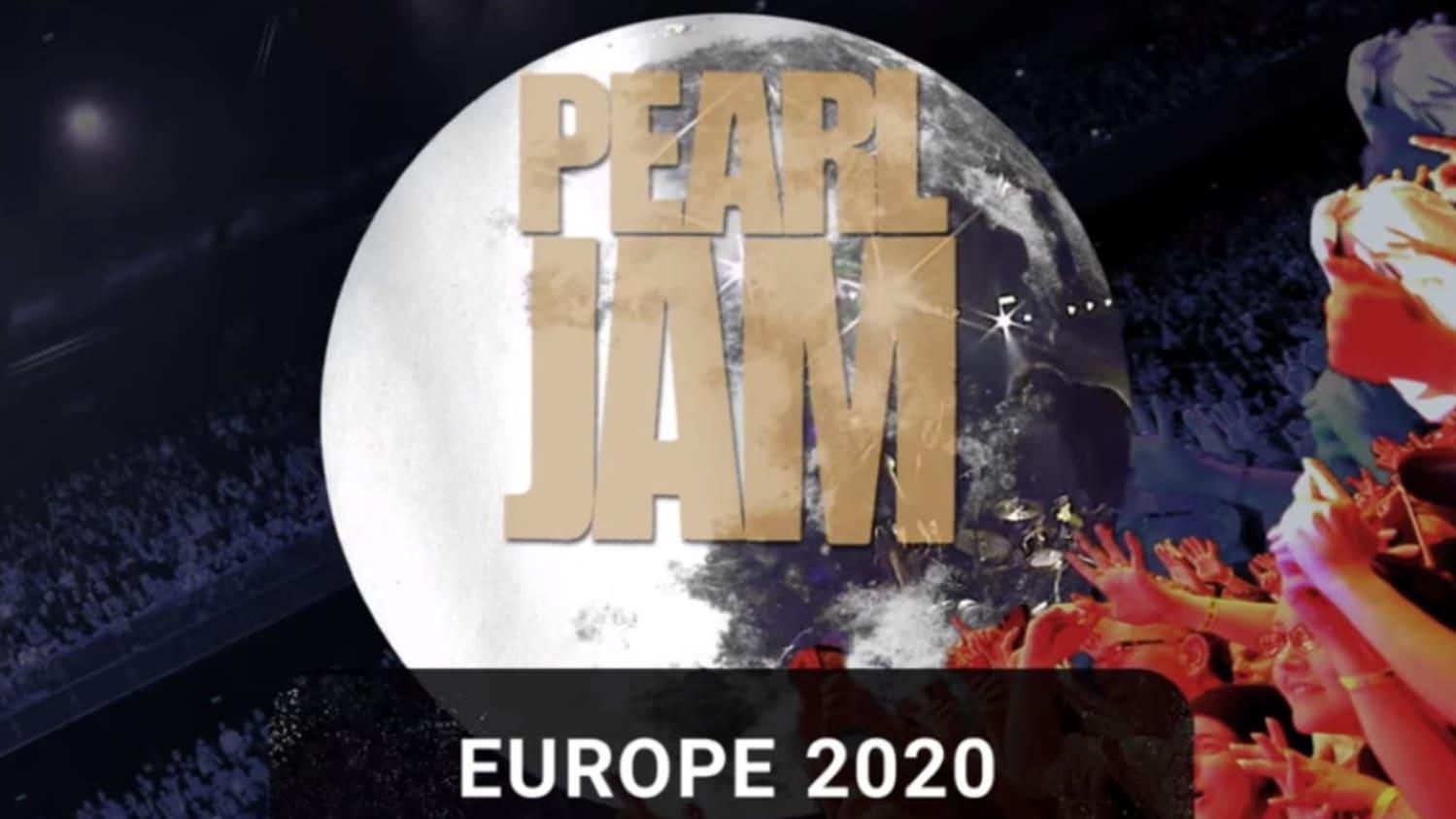 Pearl Jam 2020 Tour.Pearl Jam Announces Summer Tour 2020