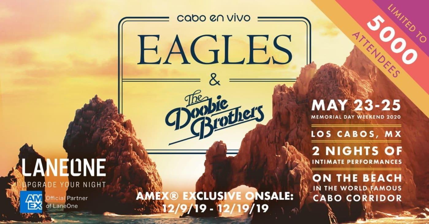 Eagles Doobie Brothers Mexico 2020