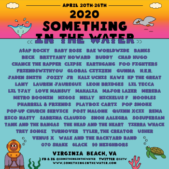 Pharrell Williams Details Something In The Water 2020 Lineup