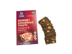 Gourmet Sodabread Toasts (cranberry & hazlenut)