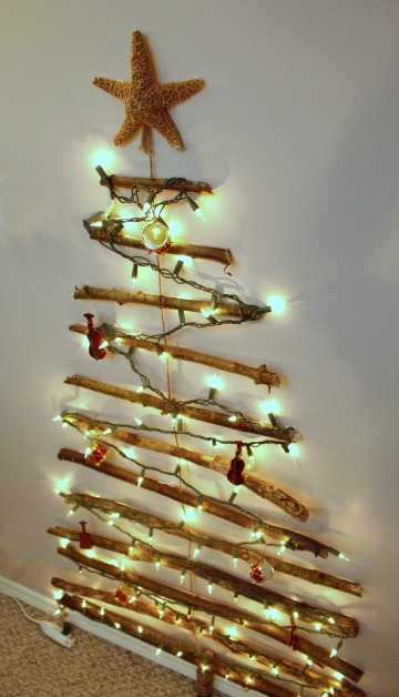 christmas tree without branches