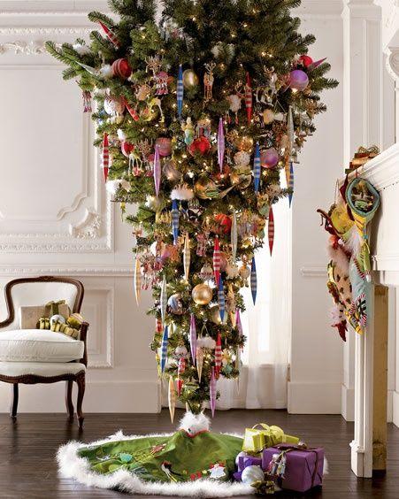 vertical christmas tree