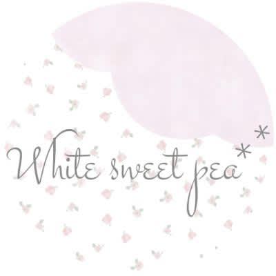 White sweetpea**