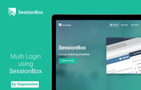 Multi Login Using Sessionbox