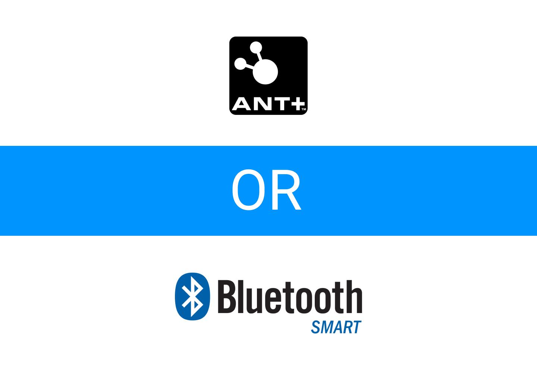 Pilih Koneksi ANT+ atau Bluetooth Smart
