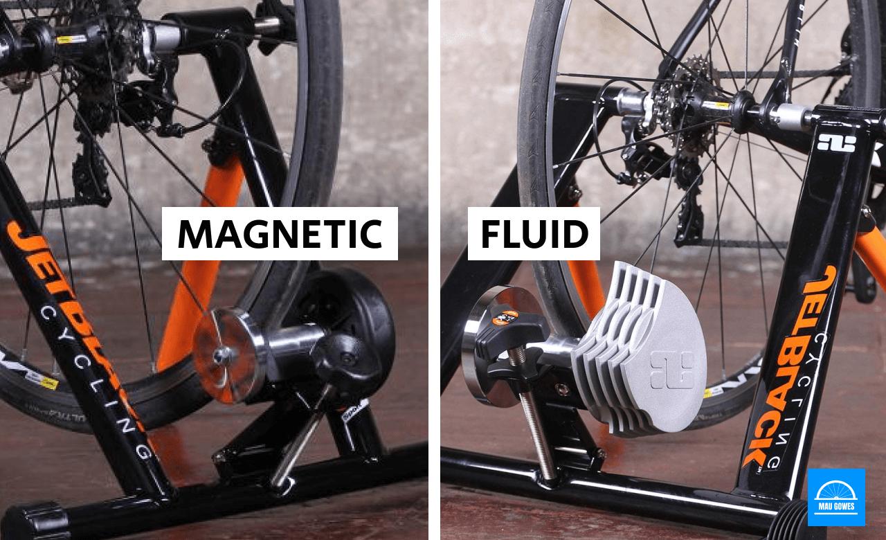 Perbedaan Magnetic dan Fluid Cycling Trainer
